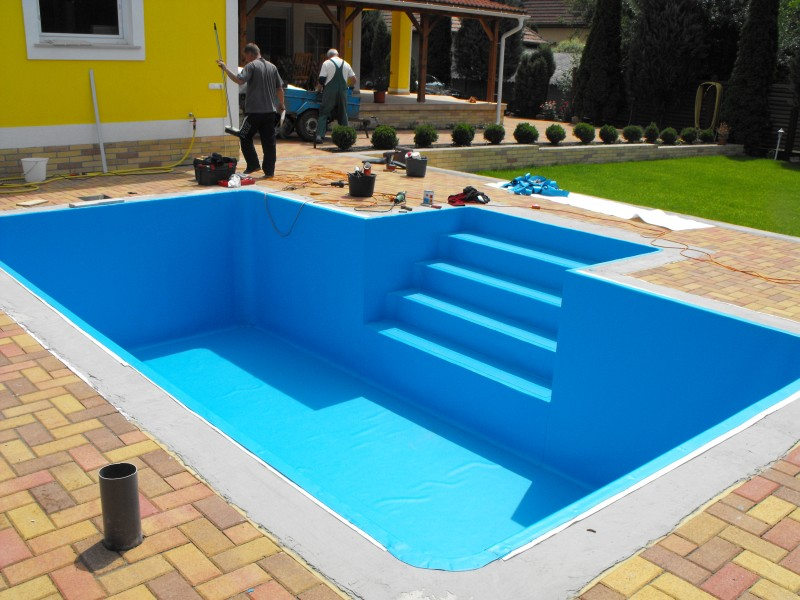 Piscine for Agrement piscine